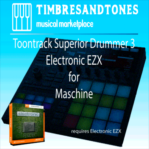 Superior Drummer 3 Electronic EZX for Maschine