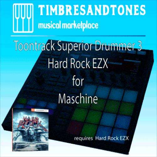 Superior Drummer 3 Hard Rock EZX for Maschine
