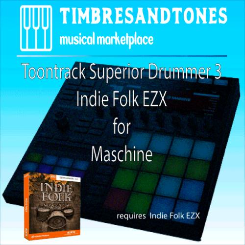 Superior Drummer 3 Indie Folk EZX for Maschine