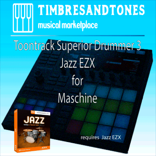 Superior Drummer 3 Jazz EZX for Maschine