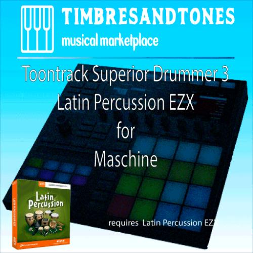 Superior Drummer 3 Latin Percussion EZX for Maschine