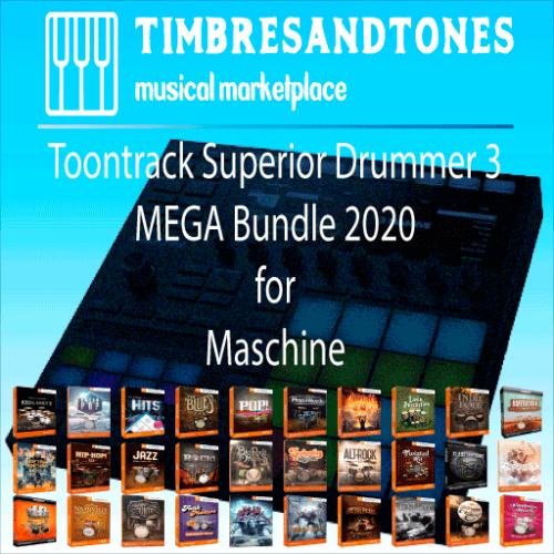 Superior Drummer 3 MEGA Bundle 2020 for Maschine