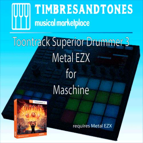 Superior Drummer 3 Metal EZX for Maschine