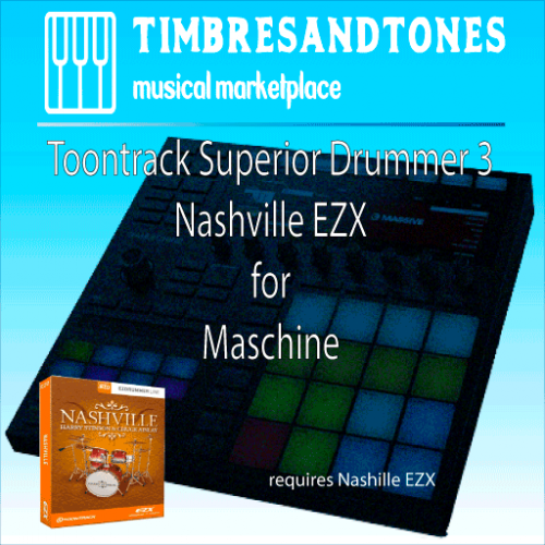 Superior Drummer 3 Nashville EZX for Maschine