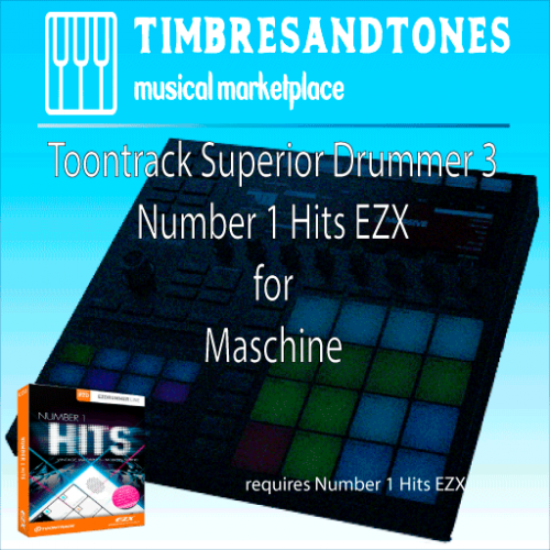 Superior Drummer 3 Number 1 Hits EZX for Maschine