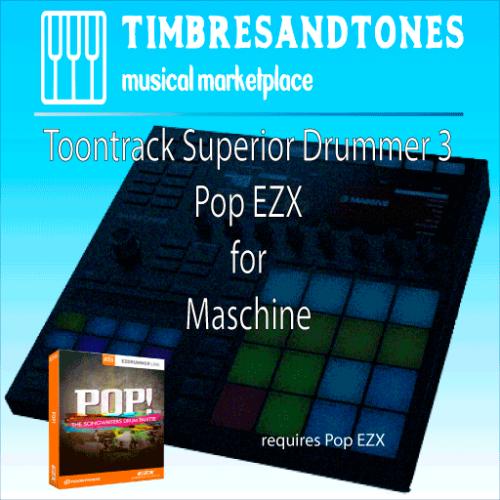 Superior Drummer 3 Pop EZX for Maschine
