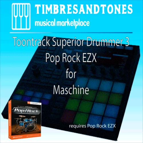 Superior Drummer 3 Pop Rock EZX for Maschine