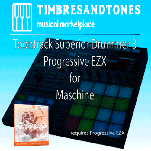 Superior Drummer 3 Progressive EZX for Maschine