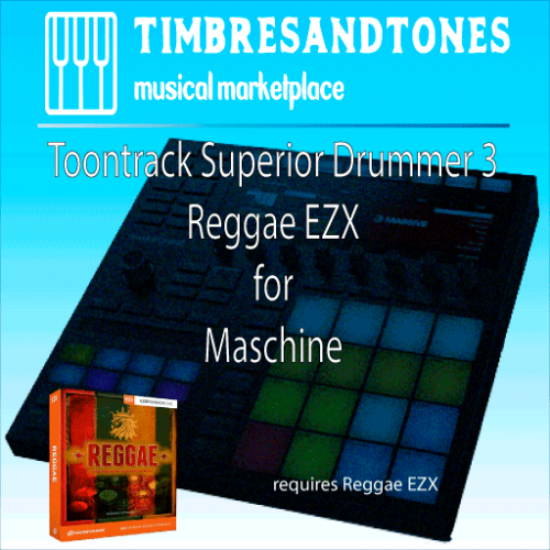 Superior Drummer 3 Reggae EZX for Maschine