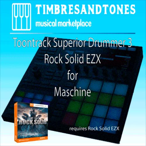 Superior Drummer 3 Rock Solid EZX for Maschine