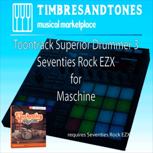 Superior Drummer 3 Seventies Rock EZX for Maschine