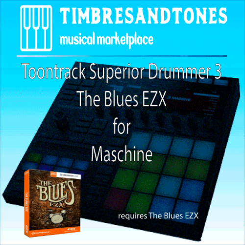 Superior Drummer 3 The Blues EZX for Maschine