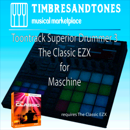 Superior Drummer 3 The Classic EZX for Maschine