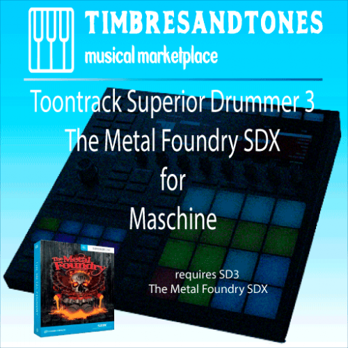 Superior Drummer 3 The Metal Foundry SDX for Maschine