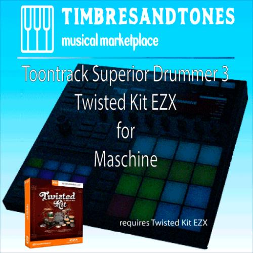 Superior Drummer 3 Twisted Kit EZX for Maschine