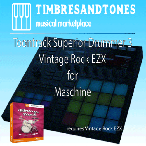Superior Drummer 3 Vintage Rock EZX for Maschine