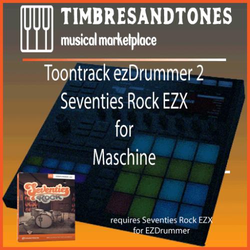 ezDrummer 2 Seventies Rock EZX for Maschine
