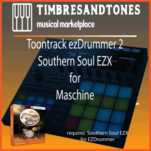 ezDrummer 2 Southern Soul EZX for Maschine