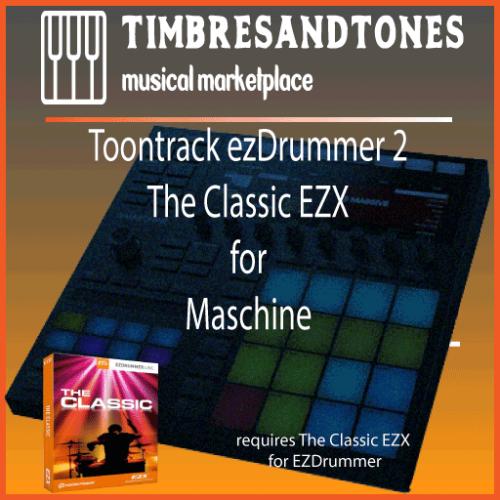 ezDrummer 2 The Classic EZX for Maschine