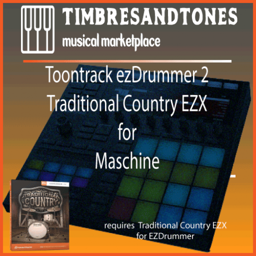 ezDrummer 2 Traditional Country EZX for Maschine