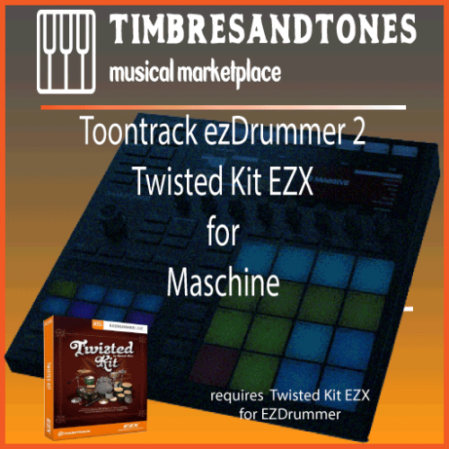 ezDrummer 2 Twisted Kit EZX for Maschine