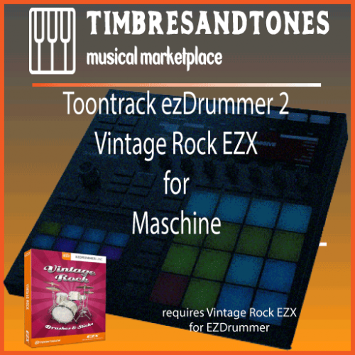 ezDrummer 2 Vintage Rock EZX for Maschine