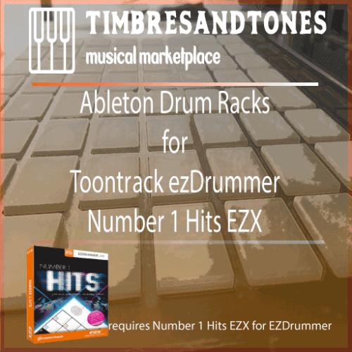 Ableton Drum Racks for ezDrummer Number 1 Hits