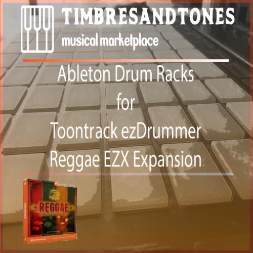 Ableton Drum Racks for ezDrummer Reggae EZX