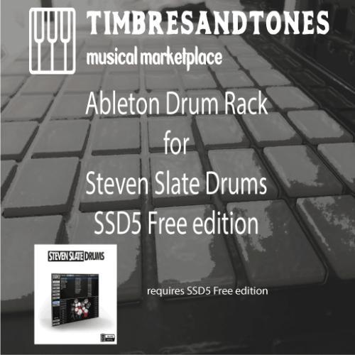 Ableton Drum Rack for Steven Slate 5 Drums Free