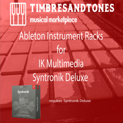 Ableton Instrument Racks for Syntronik Deluxe Edition