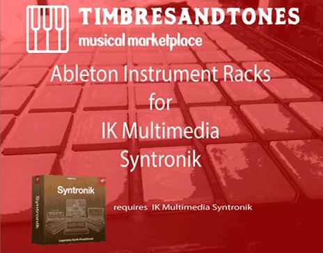 Ableton Instrument Racks for Syntronik
