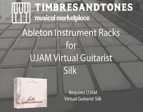 Ableton Instrument Racks for UJAM Virtual Guitarist Silk