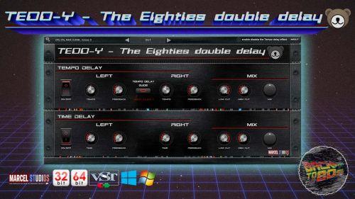 TEDD-Y the Eighties Double Delay