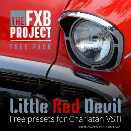 Little Red Devil - 128 free presets for Charlatan 2