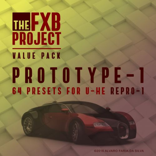 Prototype-1 - 64 presets for U-He Repro 1
