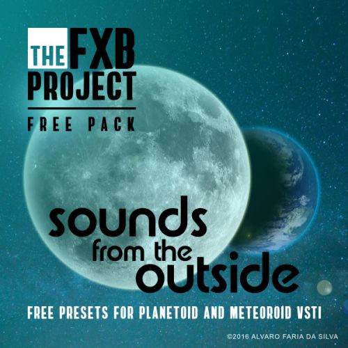 Sounds from the Outside: presets for Planetoid & Meteoroid