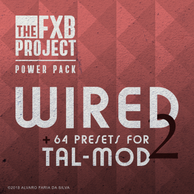 Wired 2 - 64 NEW presets for TAL-Mod