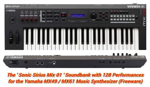 The Sonic Sirius Mix 01 Soundbank