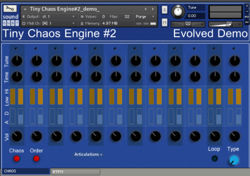 Tiny Chaos Engine - Evolved - Free