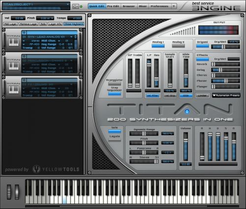 Titan - 200 Synthesizers in One