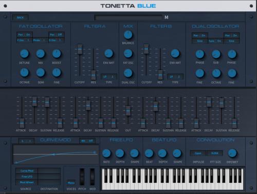 Tonetta Blue Frontside