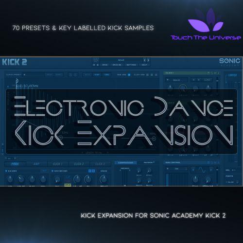 Electronic Dance Kick Expansion for Kick 2