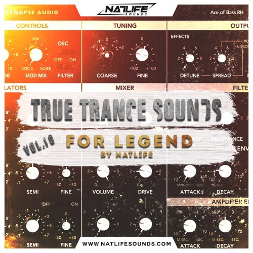 True Trance Sounds Vol.10 for Legend