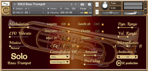 SOLO Bass Trumpet