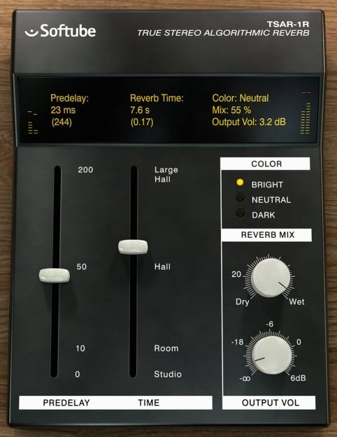 TSAR-1R True Stereo Algorithmic Reverb