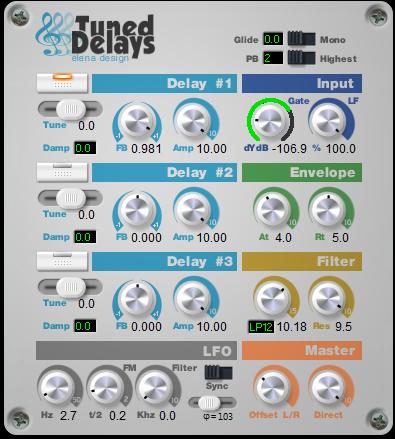 Tuned Delays