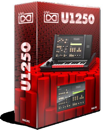 UVI U1250 boxshot