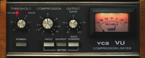 VCA VU Compressor/Limiter