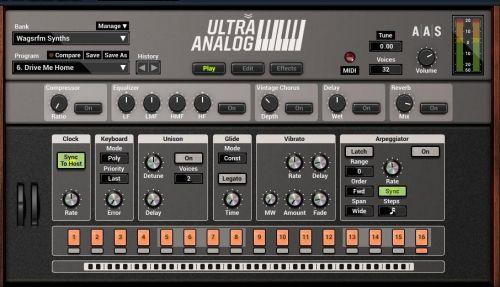 Ultra analog VA 2 Sound Library