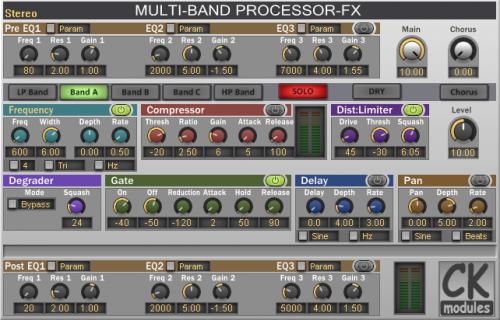 Multi-Band Processor-FX